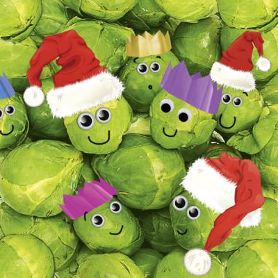 Christmas Sprouts RAG0046