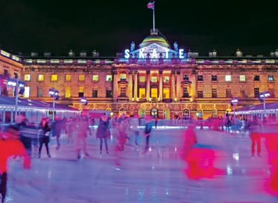 Skating At Somerset House RADA0046