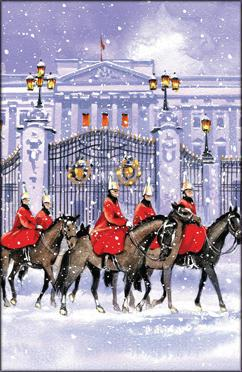 Horse Guards In The Snow M7