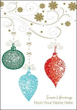Christmas Baubles L65F