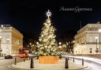 London Christmas Tree L129