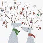 view large image and full details for Reindeer and Robins RAG2385