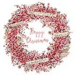 view large image and full details for Berry Wreath L150