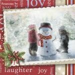 view large image and full details for Christmas Montage RAG2064