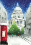 view large image and full details for St Paul's At Christmas L96