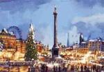view large image and full details for Christmas In Trafalgar Sqaure L112