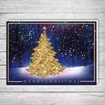 view large image and full details for Holographic Christmas Tree M33